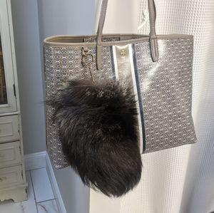 LARGE vintage fur keychain